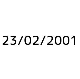 Selb - neuvedeno 2001
